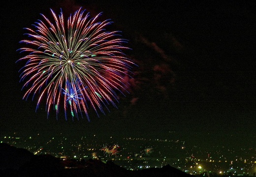 4th of july mt rubidoux