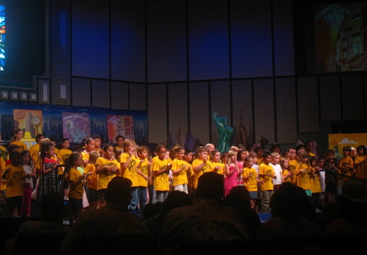 abigail and hannah vbs show