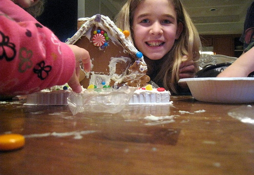 gingerbread house eater