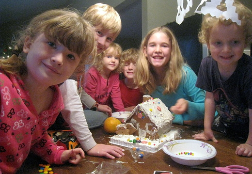 gingerbread house eaters