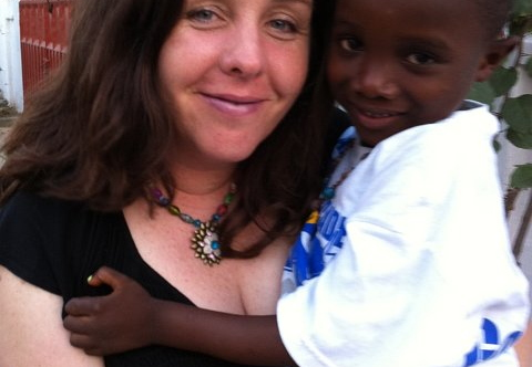 kim and zion in ghana (first trip in Feb)