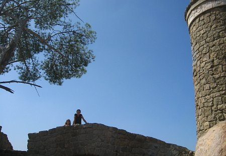 abigail and hannah - mount rubidoux